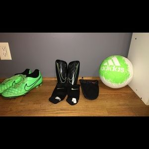 Women's Nike soccer equipment